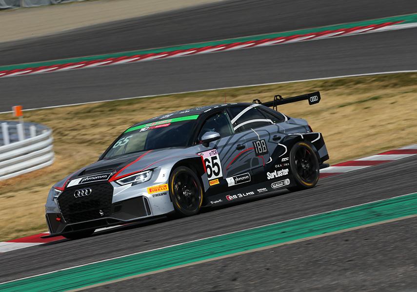 Audi team Mars スーパー耐久