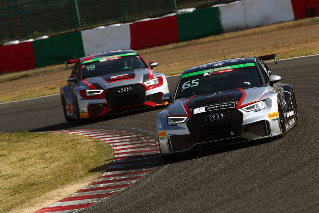 Audi team Mars スーパー耐久第1戦