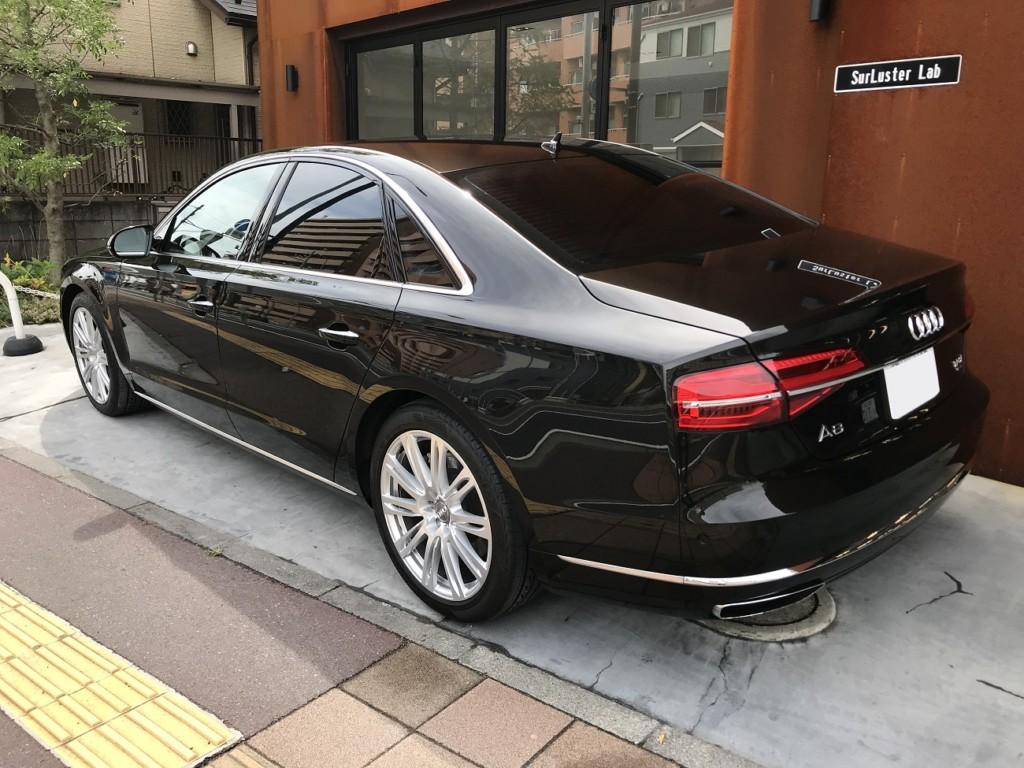 シュアラスターラボ|コーティング施工実績|Audi|A8