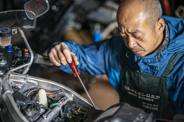 モトールエンジニア|NSR|バイク|藤沢市|シュアラスター|ゼロフィニッシュ|NSR250