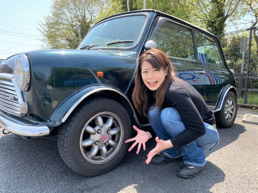 シュアラスター|木村亜美|クラシックミニ|classicmini|洗車