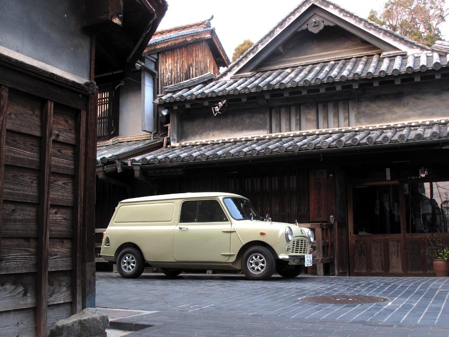 シュアラスター|surluster|classicar|クラシックカー|クラシックミニ|classicmini|mini|minivan|ドライブ|旅行