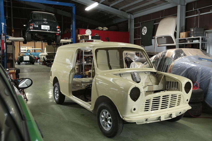 シュアラスター|surluster|classicar|クラシックカー|クラシックミニ|classicmini|mini|minivan|塗装