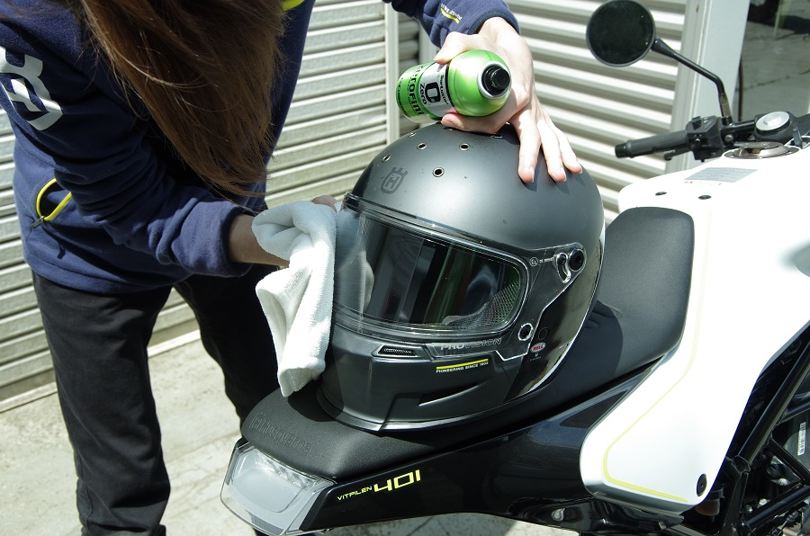 シュアラスター|ゼロフィニッシュ|ハスクバーナ東名横浜|洗車|コーティング |ヘルメット