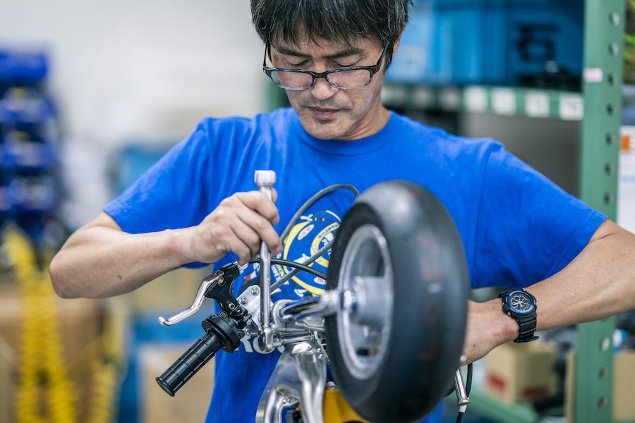 シュアラスター|ゼロフィニッシュ|74daijiro|ポケバイ|ミニバイク|開発