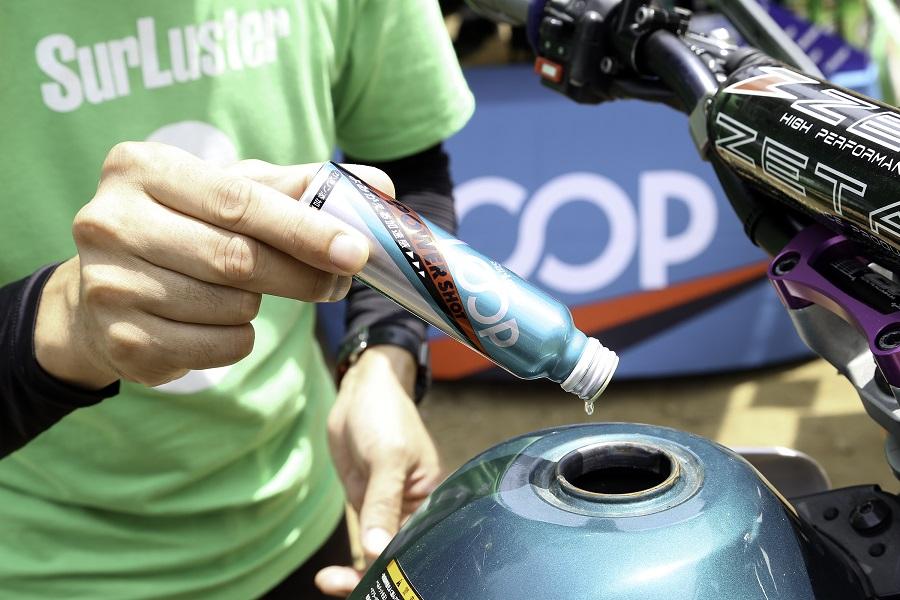 シュアラスター|ガソリン添加剤|loop|loopパワーショット|エンデューロ|オフロードバイク