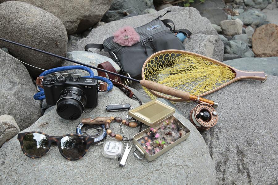 アウトドア|渓流釣り|マウンテンバイク|MTB|釣り|フライフィッシング|山ガール|釣りガール|道具