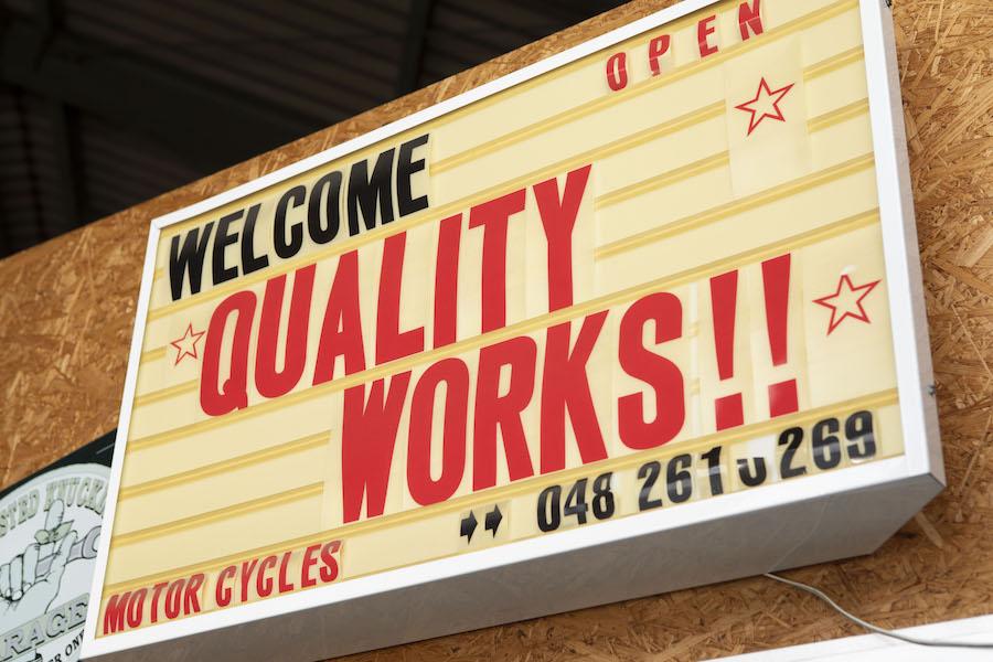 シュアラスター|surluster|ゼロフィニッシュ|qualityworks|クオリティーワークス|バイクカスタム|チューニング
