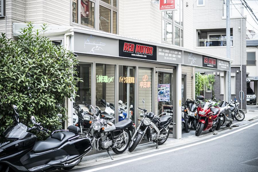 シュアラスター|ゼロフィニッシュ|surluster|バイク屋|カスタム|レッドモーター|redmotor|東京都北区
