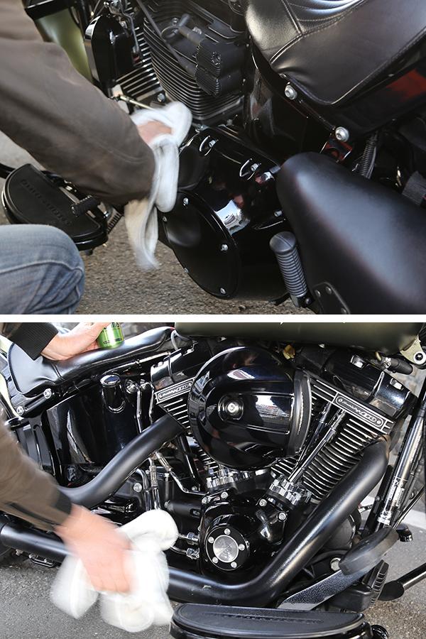 シュアラスター|ゼロフィニッシュ|surluster|輪栄|rinei|東京都大田区|Harleydavidson|ハーレーダビッドソン|ソフテイルスリム|洗車