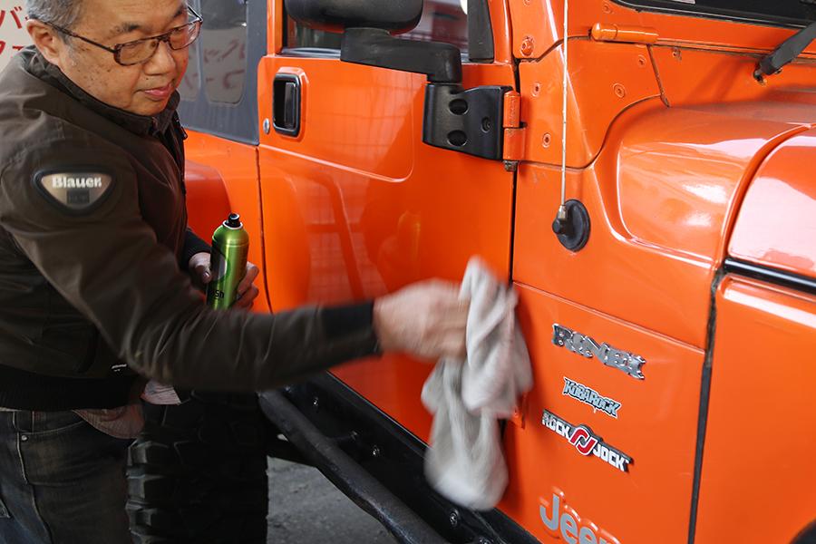 シュアラスター|ゼロフィニッシュ|surluster|輪栄|rinei|東京都大田区|jeep|四駆|ジープラングラー|洗車