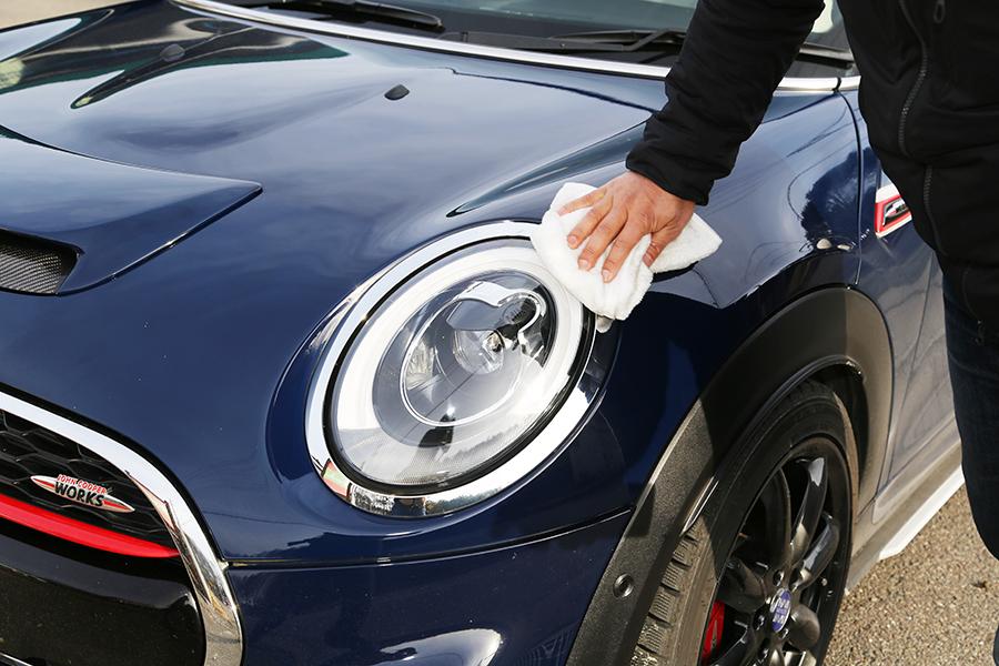 シュアラスター|surluster|ゼロフィニッシュ|洗車|コーティング|長野県諏訪郡|グリーンベル|モトグッツィ|BMWミニ|ミニ