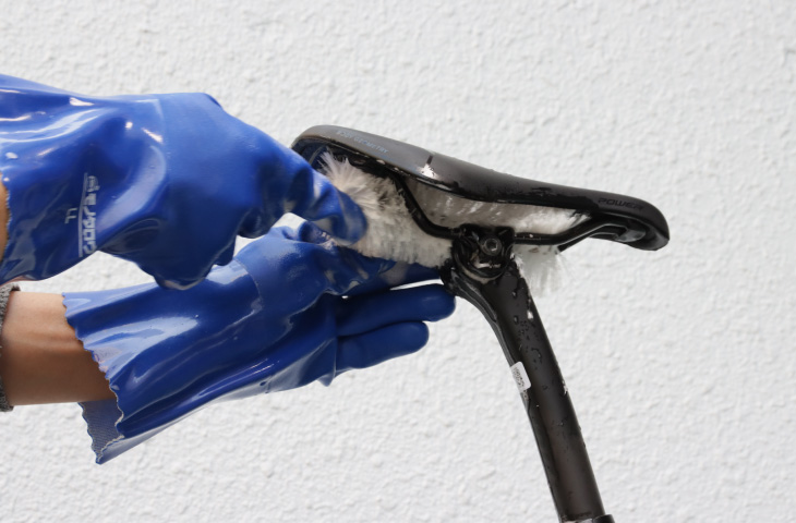 ロードバイクの洗車_洗車