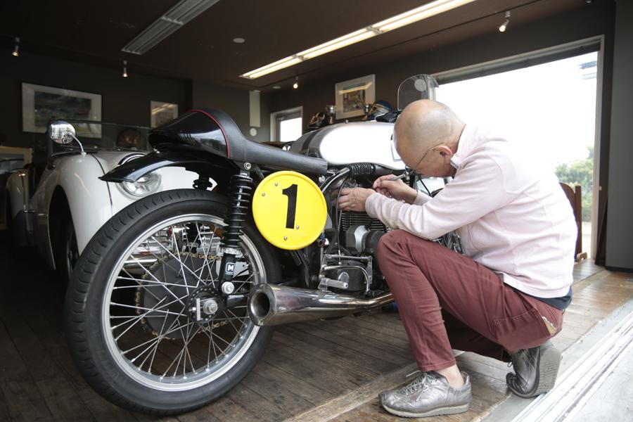 クラシックバイク|ノートン|整備|英国車|二輪レース