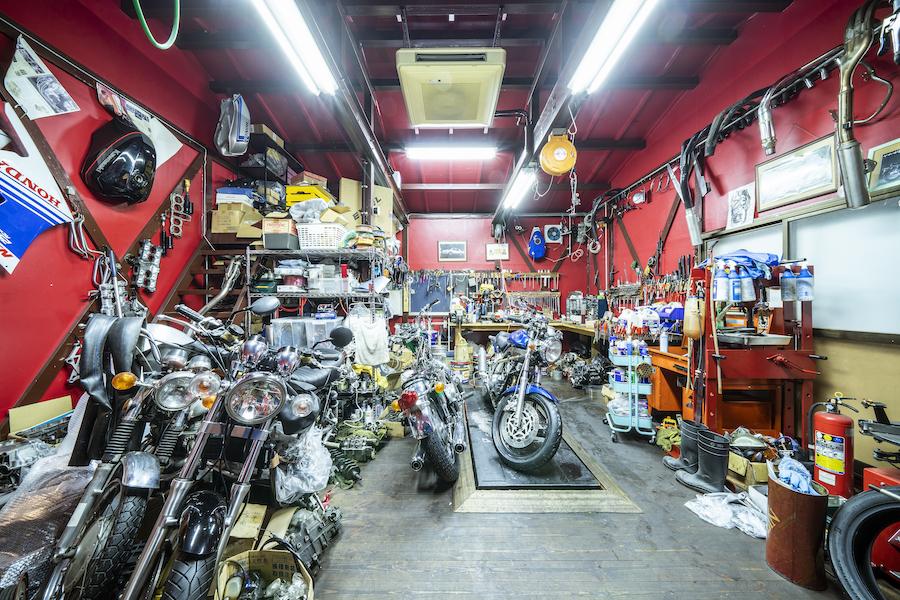 埼玉県八潮市|旧車|クラシックバイク|カスタムバイク|メカニック|bobby|ボビー