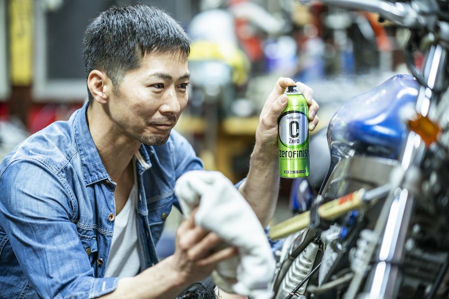 旧車|クラシックバイク|カスタムバイク|ボビー|メンテナンス|ゼロフィニッシュ|施工