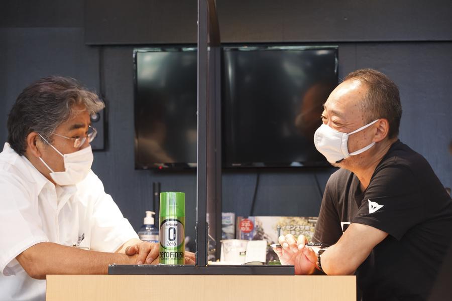 Kawasaki|カワサキプラザ東京練馬|ゼロフィニッシュ|対談