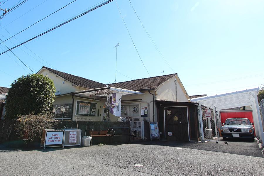 東京都立川市 米軍ハウス moonhouse レストラン 外観