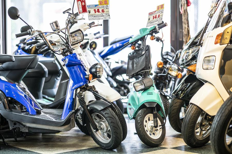 motoGITA|東京都杉並区|高井戸|店内|スクーター
