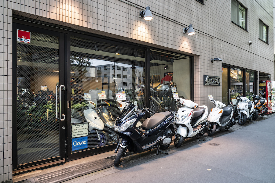 motoGITA|東京都杉並区|高井戸|店頭