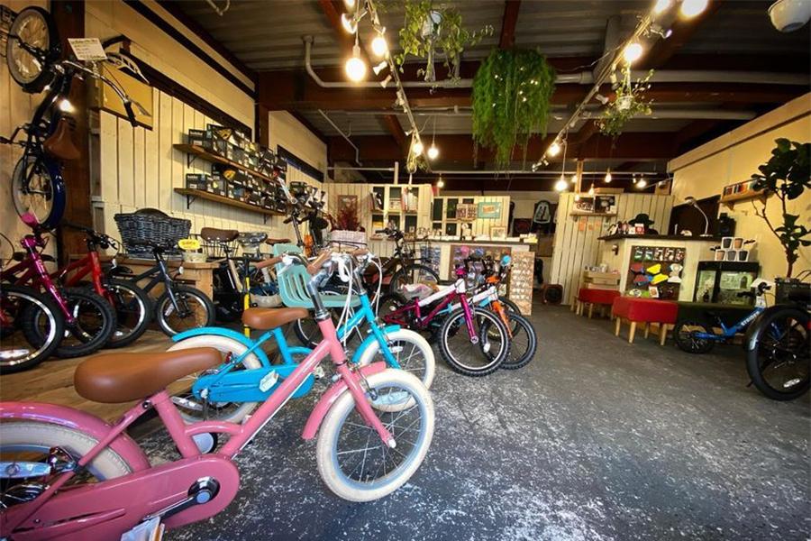 nois|清澄白河|ショールーム|店内|自転車
